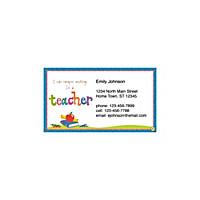 Teachers Rule! Social Calling Cards