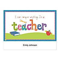 Teachers Rule! Folded Note Cards