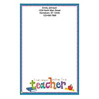 Teachers Rule! Large Note Pads