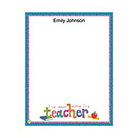 Teachers Rule! Small Note Pads