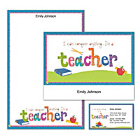 Teachers Rule! Personalized Stationery