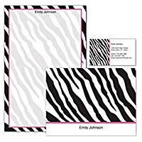 Fashion Safari Personalized Stationery