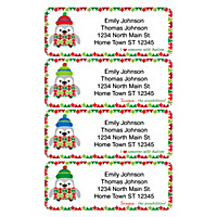 Autism: Imagine Holiday Address Labels