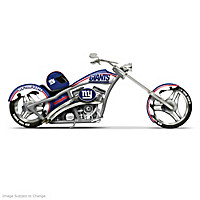 New York Giants Motorcycle Figurine Collection