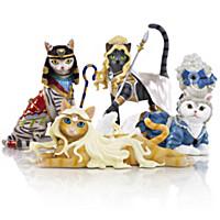Divine Feline Figurine Collection