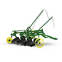 1:16-Scale John Deere Diecast Plow Collection