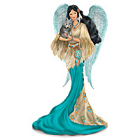 Native American-Inspired Spiritual Angel Figurine Collection