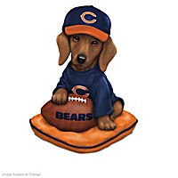 Ruff And Tough Chicago Bears Figurine Collection
