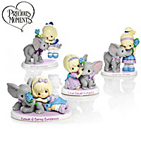 Precious Moments Parade Of Purple Figurine Collection