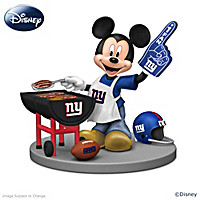 Disney New York Giants Mickey & Friends Figurine Collection