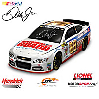 Dale Jr. Ready To Race Car Sculpture Collection