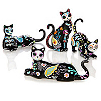 Sugar Skull Cats By Blake Jensen Figurine Collection