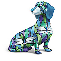 Beauty Of Tiffany Dachshund Figurine Collection