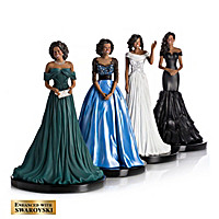 Michelle Obama: Reflection Of Style Figurine Collection