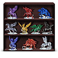 Rarest Gem Unicorns Of The World Figurine Collection