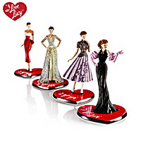 I LOVE LUCY 65th Anniversary Fashion Figurine Collection