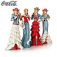 True Blue Refreshment From COCA-COLA Figurine Collection