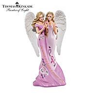Thomas Kinkade Angelic Sisters Of Hope Figurine Collection