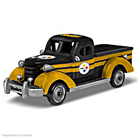 Rolling With Pride Pittsburgh Steelers Sculpture Collection
