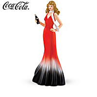 COCA-COLA Elegance Through The Decades Figurine Collection