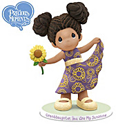Precious Granddaughter By Keith Mallett Figurine Collection