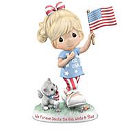 Precious Moments I Love America Figurine Collection