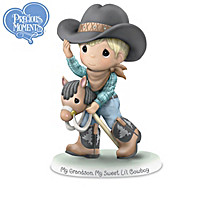 Grandsons Are The Best REWARD! Figurine Collection