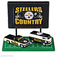 The Pittsburgh Steelers Diecast Car Collection
