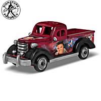 Elvis Wooden Truck Sculpture Collection