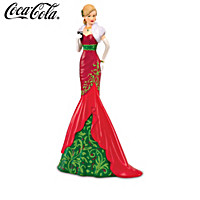 Christmas Elegance Of COCA-COLA Figurine Collection
