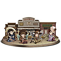 The Wild Women of the West Figurine Collection