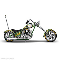 Steelers Stealthy Salute Chopper Sculpture Collection