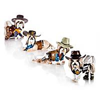 Spurs 'N Fur Shih Tzu Figurine Collection