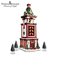 Thomas Kinkade Musical Christmas Bell Tower