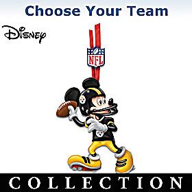NFL Disney Magic Ornament Collection