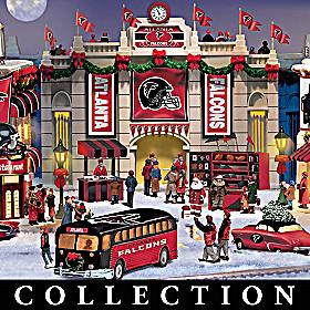 Atlanta Falcons Christmas Village Collection