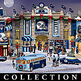 Tennessee Titans Christmas Village Collection
