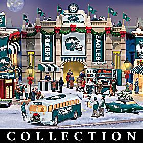 Philadelphia Eagles Christmas Village Collection