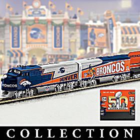 Denver Broncos Express Train Collection