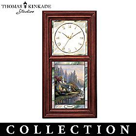 Thomas Kinkade Time For All Seasons Clock Collection
