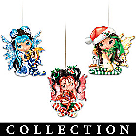 We Wish You A Fairy Christmas! Ornament Collection
