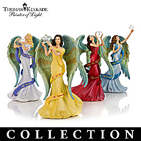 Thomas Kinkade Reflections Of My Soul Figurine Collection