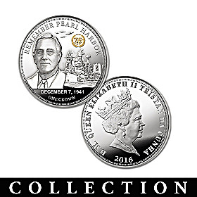 The 75th Anniversary Heroes Of Pearl Harbor Coin Collection