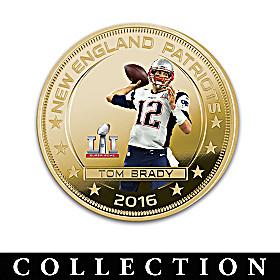 Patriots Super Bowl LI Champions Dollar Coin Collection