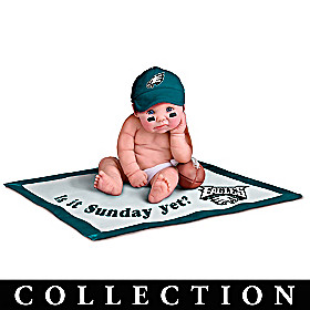 Philadelphia Eagles #1 Fan Baby Doll Collection