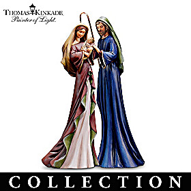 Blessed And Holy Night Nativity Figurine Collection