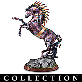 The Spirit Of The Painted Pony Sculpture Collection