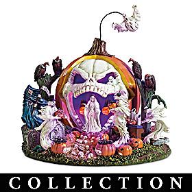 Haunted Pumpkin Sculpture Collection
