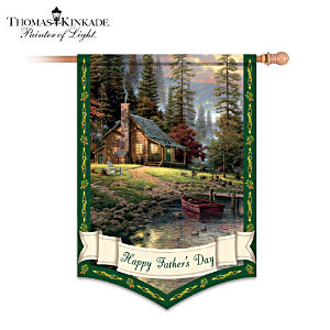 Click here for more info on this Thomas Kinkade Happy Father´s Day Decorative Flag
