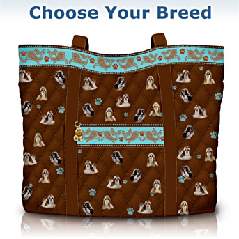 Faithful Friend Quilted Tote Bag